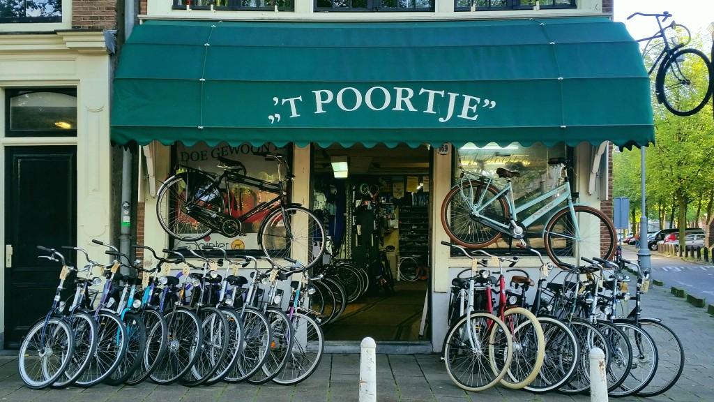 Fietsenwinkel Amsterdam