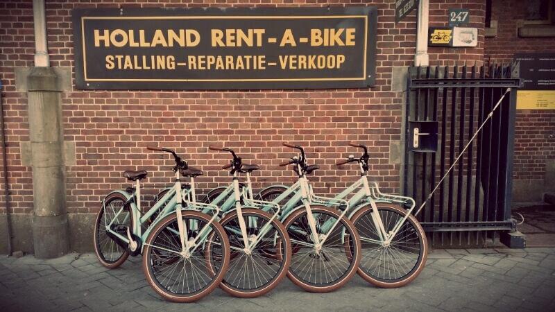 fietsverhuur amsterdam